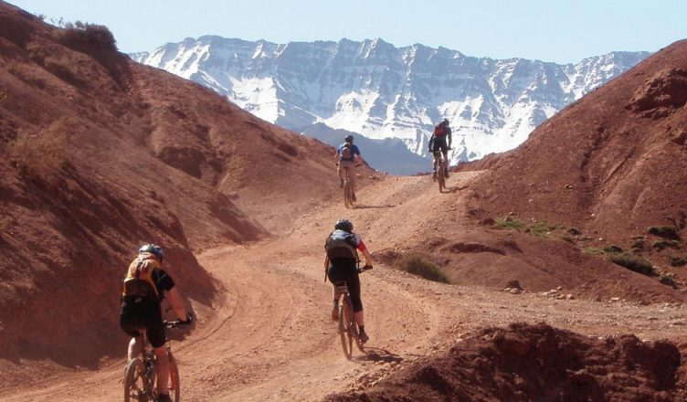 CYCLING IN MOROCCO COUNTRYSIDE